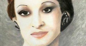 رشا الاغا ولوحة جديدة