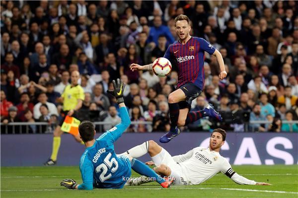 تشكيل برشلونة وريال مدريد